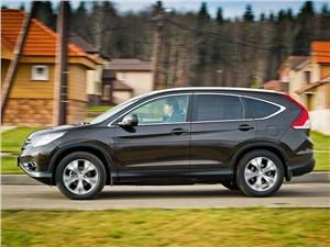Honda CR-V 2013 вид сбоку