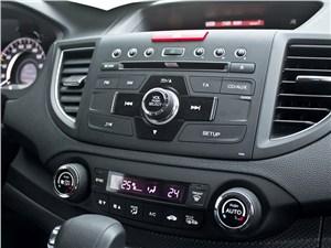 Honda CR-V 2013 аудиосистема и двухзонный климат-контроль