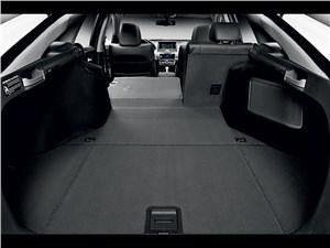 Honda Crosstour 2013 багажное отделение