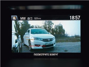 Honda Accord 2003 дисплей