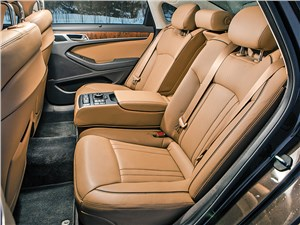 Hyundai Genesis 2014 задний диван