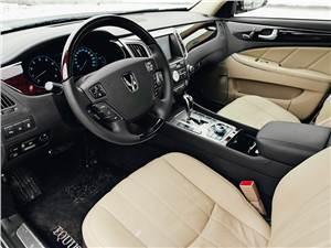 Hyundai Equus 2011 водительское место
