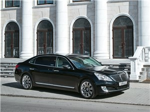 Hyundai Equus - hyundai equus limousine 2013 тёщино счастье