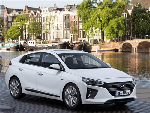 Hyundai привезет в Россию электрический Ioniq