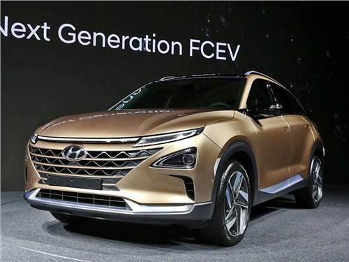 Hyundai показал новый водородный кроссовер