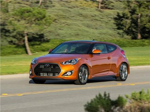 Hyundai начал тестирование нового Veloster