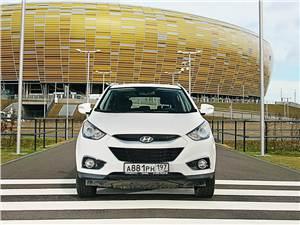 Hyundai ix35 2011 вид спереди