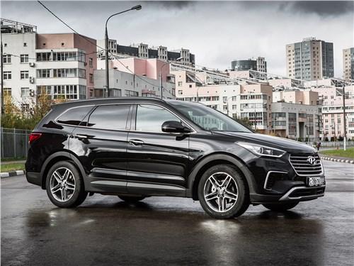 Hyundai Grand Santa Fe 2016 вид спереди