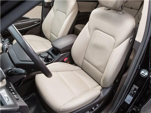 Hyundai Grand Santa Fe 2016 передние кресла