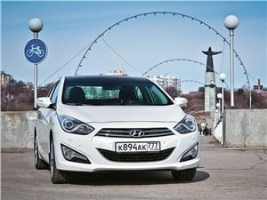 На Hyundai i40 по Чувашии