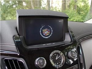Предпросмотр cadillac cts-v 2009 экран мультимедиасистемы