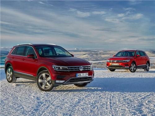 Volkswagen подтвердил информацию о неисправных кроссоверах Tiguan
