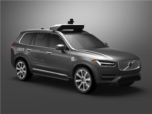 Uber и Volvo будут совместно разрабатывать беспилотный автомобиль