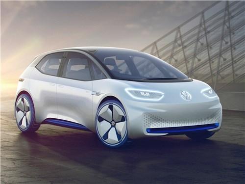 Предпросмотр volkswagen i.d. concept 2016 электрокары – в массы!