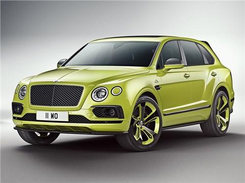 Bentley привез в Россию эксклюзивный кроссовер Bentayga Pikes Peak