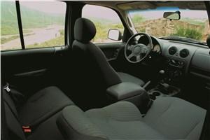 Предпросмотр jeep cherokee 2001 версия с темным салоном