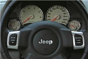 Предпросмотр jeep cherokee 2001 имеет очень четкую оцифровку приборов
