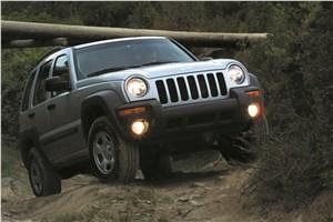 Предпросмотр jeep cherokee 2001 преодоление крутого подъема