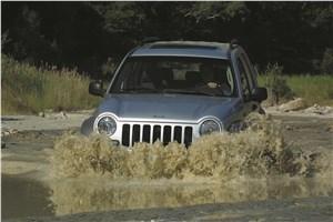 Предпросмотр jeep cherokee 2001 преодоление брода