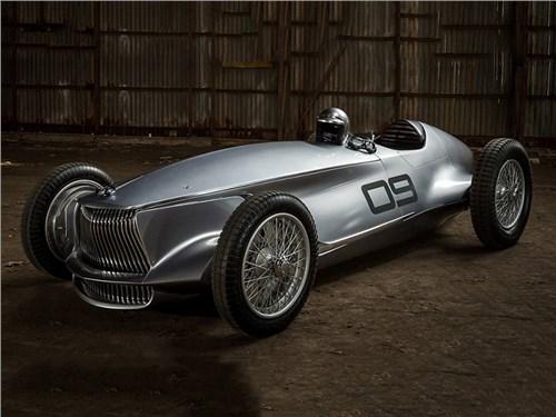 Infiniti показала ретро гоночный автомобиль с двигателем от Nissan Leaf