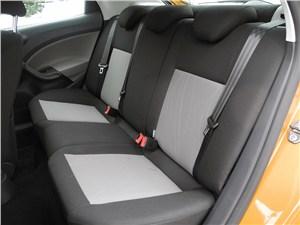 Seat Ibiza 2012 задний диван