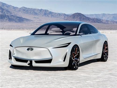 Infiniti показала дизайн будущих моделей