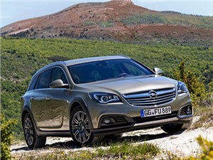 Новый Opel Insignia Country Tourer - Opel Insignia Country Tourer 2014 вид спереди