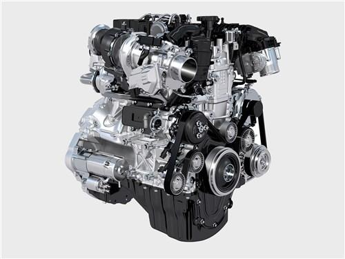 Jaguar XE 2017 двигатель