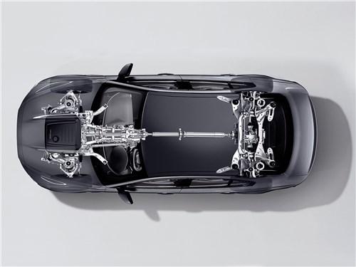 Jaguar XE 2017 «рентген» ходовой части