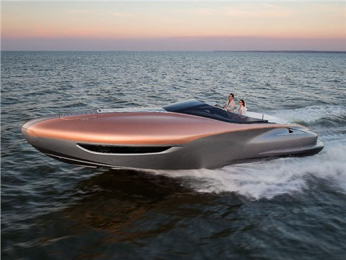 Lexus создал первую яхту в своей истории