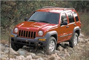 Предпросмотр jeep cherokee 2001 на пересеченной местности
