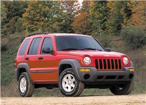 Предпросмотр jeep cherokee 2001 вид справа спереди