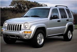 Предпросмотр jeep cherokee 2001 на асфальте в динамике