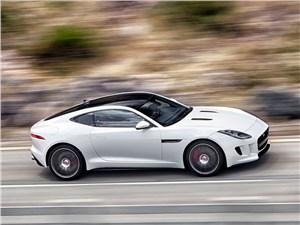 Серп и молот F-Type - Jaguar F-Type 2014 вид сбоку сверху