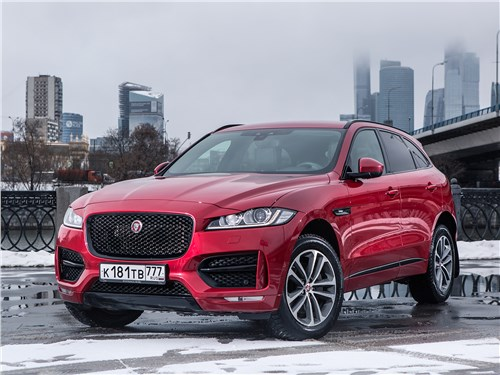Предпросмотр jaguar f-pace 2016 вид спереди