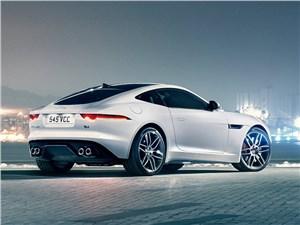 Серп и молот F-Type - Jaguar F-Type 2014 вид сзади сбоку