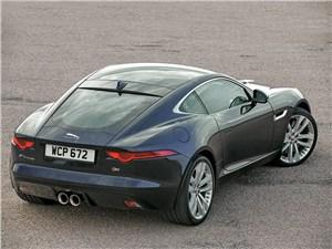 Предпросмотр jaguar f-type 2014 вид сзади