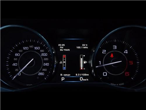 Предпросмотр jaguar xe 2016 приборная панель