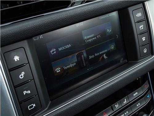 Предпросмотр jaguar xf 2.0 d 2016 монитор