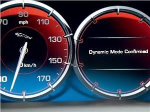 Jaguar XJ 2012 приборная панель