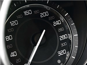 Jaguar F-Type 2013 спидометр