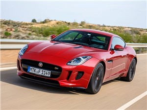 BMW M6 Gran Coupe, Jaguar F-Type, Audi RS6, Volkswagen Golf GTI, Porsche Cayman - jaguar f-type coupe 2014
