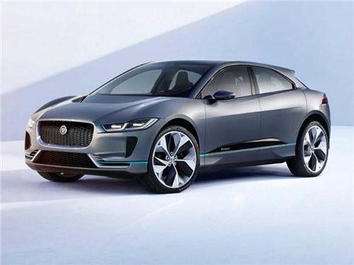 Jaguar начал прием заказов на новый электрический I-Pace