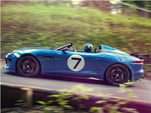 Предпросмотр jaguar project 7 2013 вид сбоку