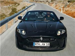 Jaguar XKR-S вид спереди