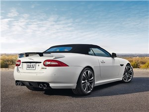 Jaguar XКR-S Convertible 2013 вид сзади
