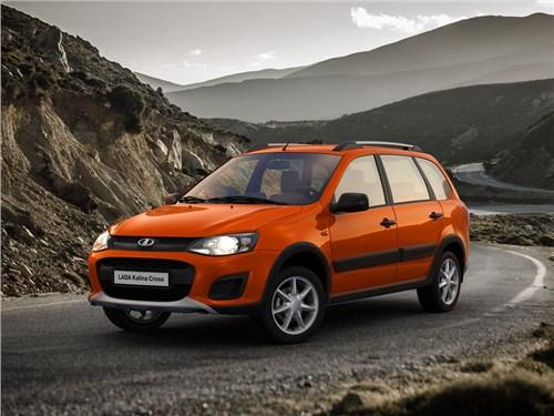 Новость про Lada Kalina Cross - АвтоВАЗ начал производство новой версии универсала Kalina Cross