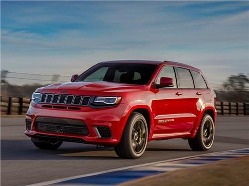 Новость про Jeep Grand Cherokee - Jeep Grand Cherokee Trackhawk