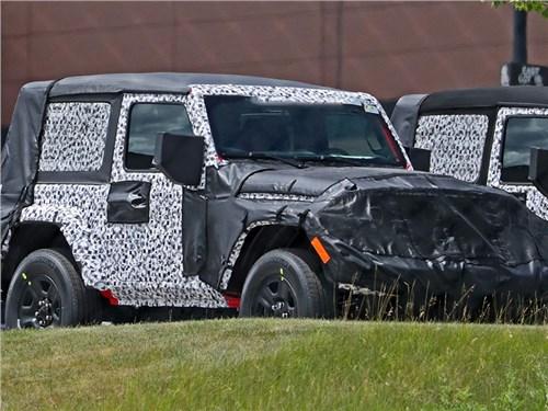 Jeep Wrangler получит крышу с электроприводом