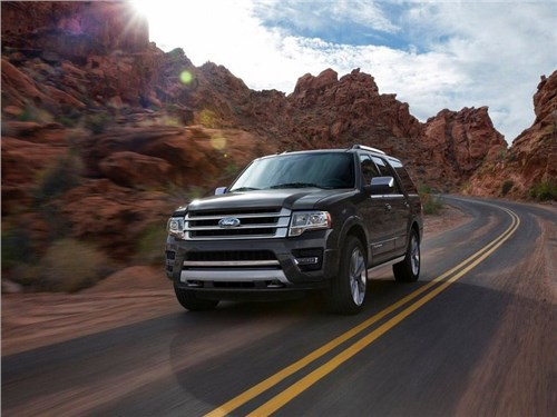 Новость про Ford Expedition - Новое поколение Ford Expedition получит алюминиевый кузов